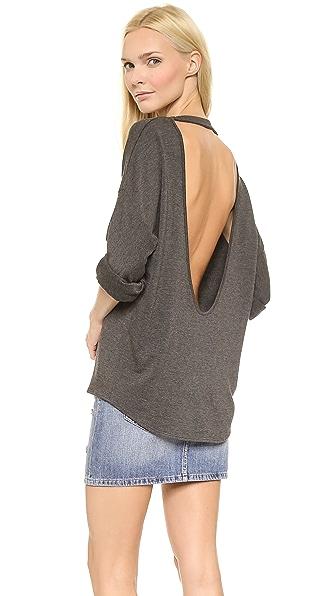 Пуловер с открытой спиной доставка