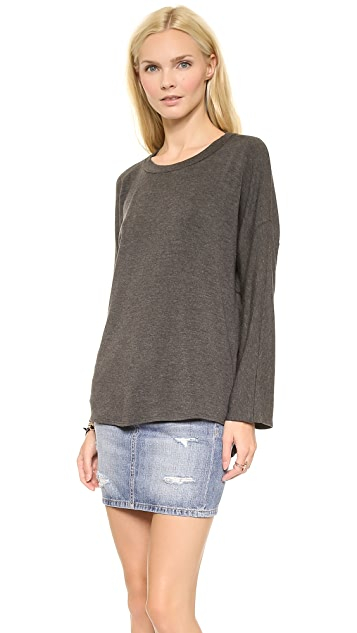 Riller & Fount Claus Long Sleeved Open Back Pullover