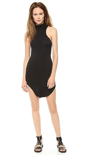 Riller & Fount Rosalie Sleeveless Turtleneck Mini Dress