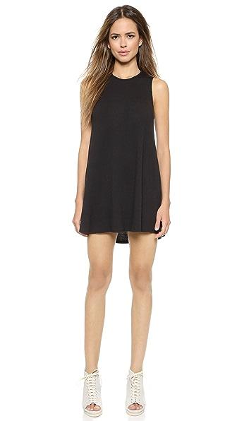 Shop Riller & Fount online and buy Riller & Fount Georgio Aline Tunic Dress Coal dress online
