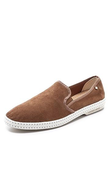 Rivieras Suede Sultan Slip On Shoes