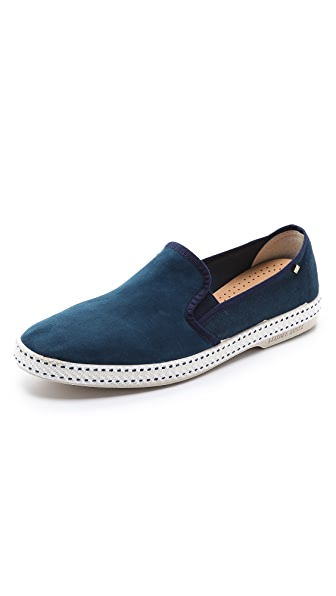 Rivieras Suede Sultan Slip On Shoes