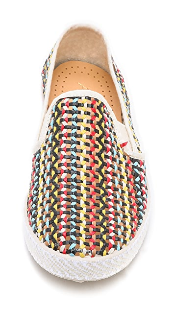 Rivieras Lord Slip On Woven Sneakers