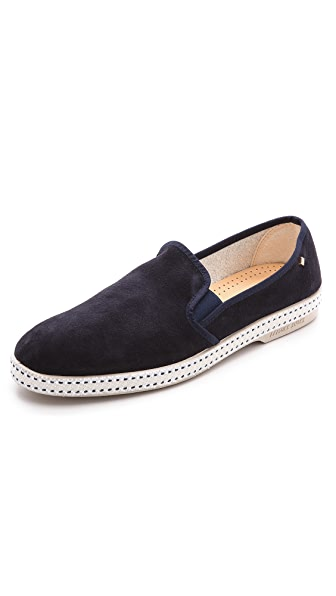 Rivieras Suntan Suede Slip On Shoes