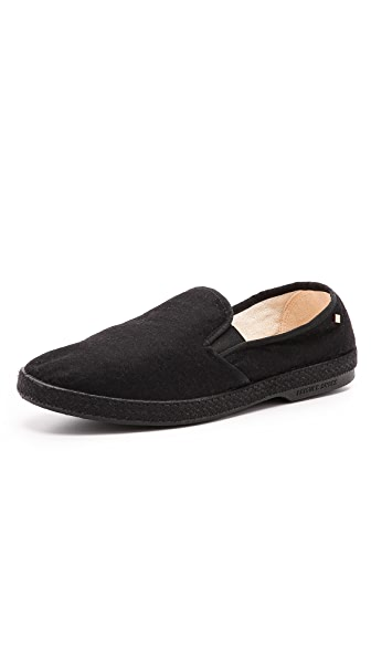 Rivieras Manoir Felt Slip On Shoes