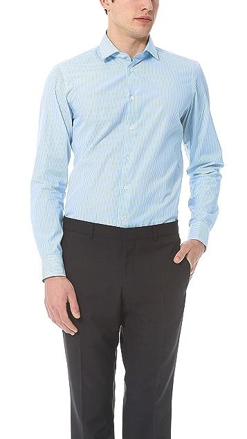 Richard James Double Stripe Dress Shirt