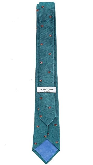 Richard James Little Butterflies Tie