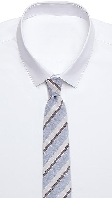 Richard James Linen Cotton Tie