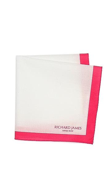 Richard James Frame Pocket Square