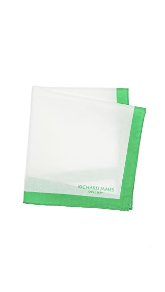 Richard James Frame Pocket Square
