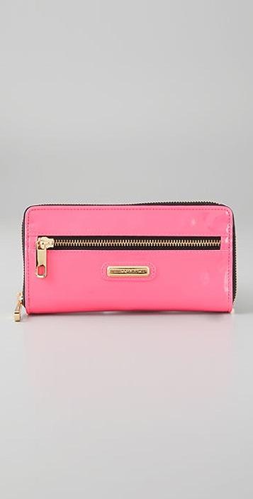 Rebecca Minkoff Neon Nights Large Zip Wallet