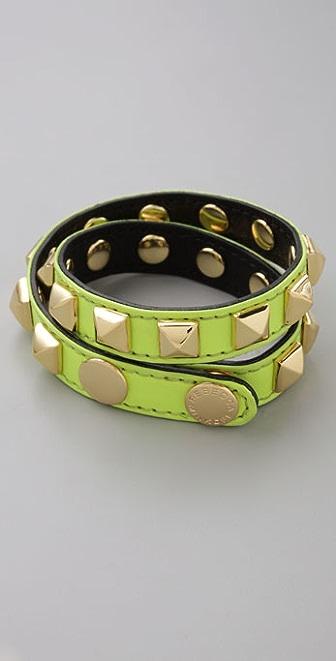 Rebecca Minkoff Double Pyramid Bracelet