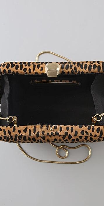 Rebecca Minkoff Leopard Fling Clutch