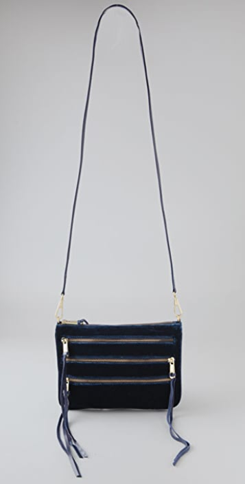 Rebecca Minkoff Velvet 3 Zip Rocker Bag