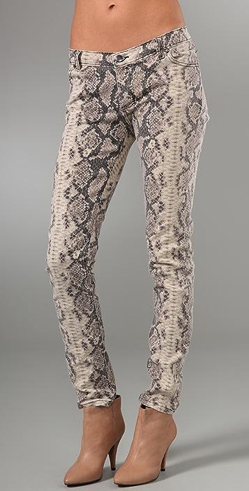 Rebecca Minkoff Python Skinny Jeans