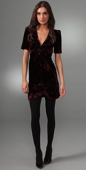 Rebecca Minkoff Crushed Velvet Ilaria Dress