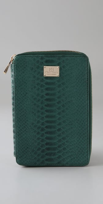 Rebecca Minkoff Alligator Bookworm Kindle Sleeve