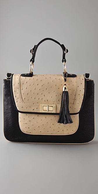 Rebecca Minkoff Covet Ostrich Day Bag
