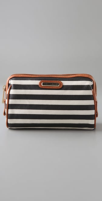 Rebecca Minkoff Striped Makeup Pouch