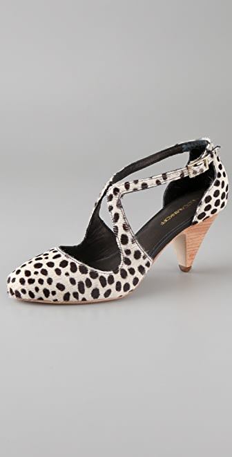 Rebecca Minkoff Strut Haircalf Pumps