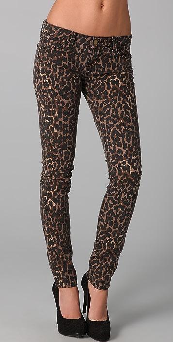 Rebecca Minkoff Jessica Cheetah Jeans