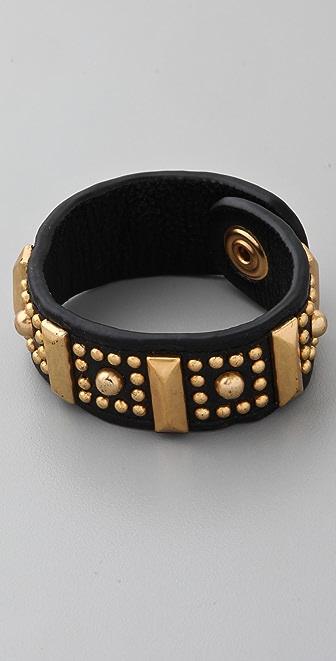 Rebecca Minkoff Flower Stud Bracelet