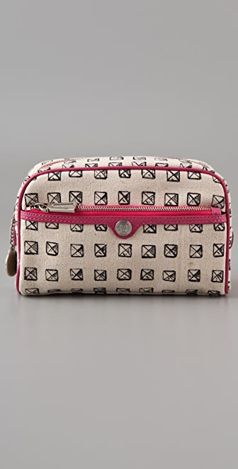 Rebecca Minkoff Canvas Made Up Makeup Case