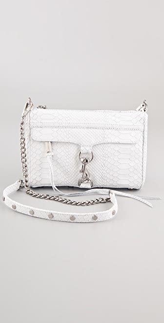 Rebecca Minkoff Mini MAC Snake Bag