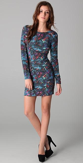 Rebecca Minkoff Pleated Freja Dress