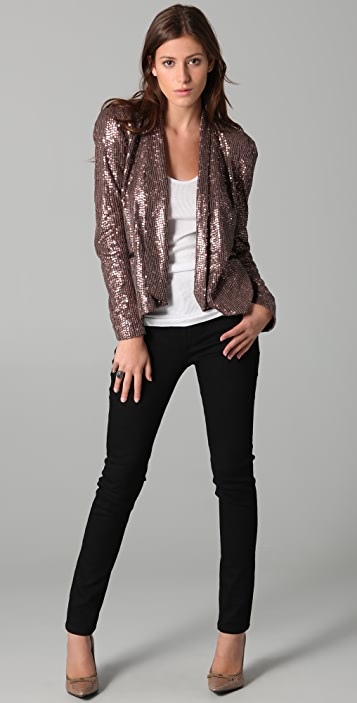 Rebecca Minkoff Becky Sequined Jacket