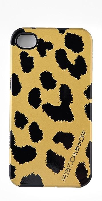 Rebecca Minkoff Cheetah iPhone Case
