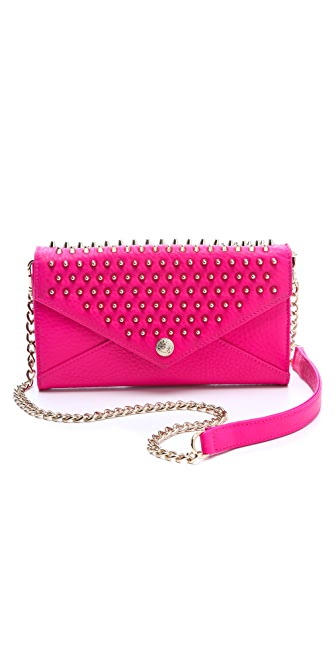 Rebecca Minkoff Wallet Bag on a Chain with Studs