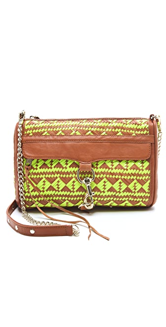 Rebecca Minkoff Woven Leather MAC Bag
