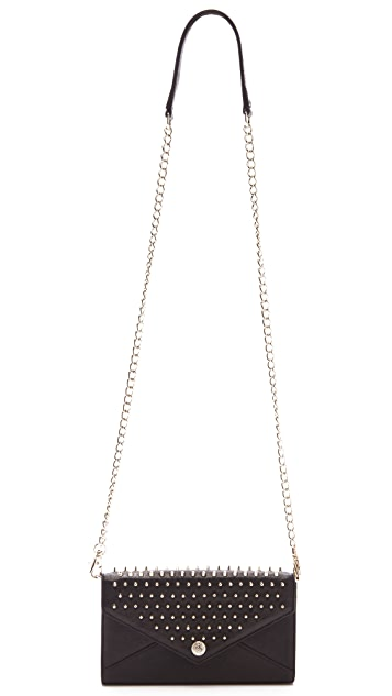 Rebecca Minkoff Studded Wallet on a Chain