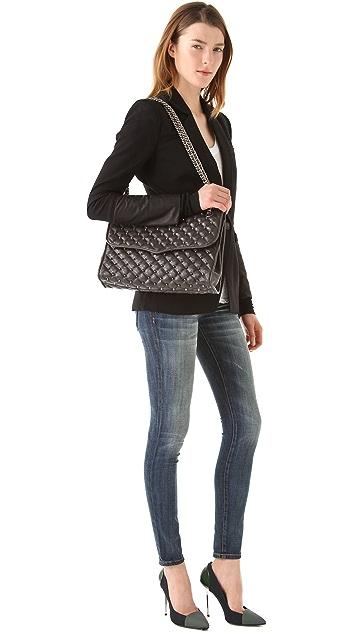 Rebecca Minkoff Spikey Studded Large Affair Bag