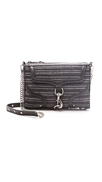 Rebecca Minkoff Interlock Woven MAC Bombe Clutch