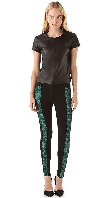Rebecca Minkoff Ama Metallic Pants