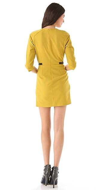 Rebecca Minkoff Arlington V Neck Dress
