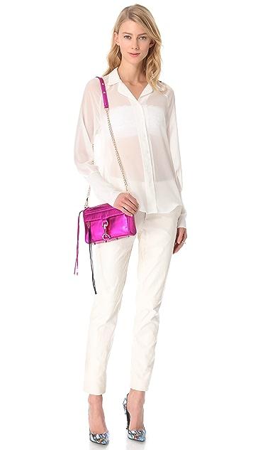 Rebecca Minkoff Metallic Mini MAC Bag