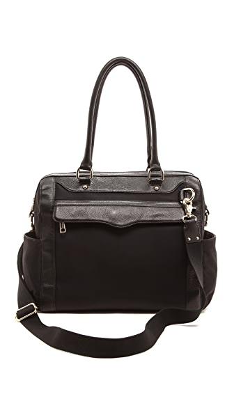 Rebecca Minkoff Knocked Up Baby Bag - Black/Black