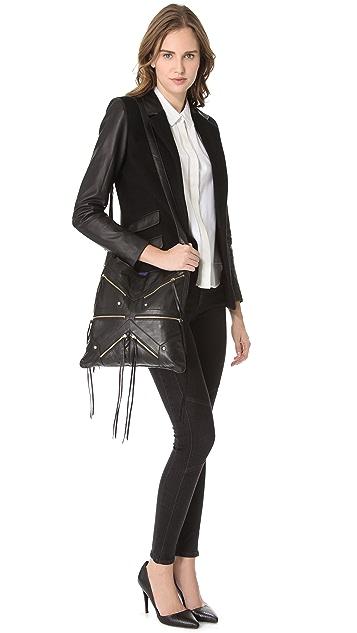 Rebecca Minkoff Love Letters Tri Zip Bag