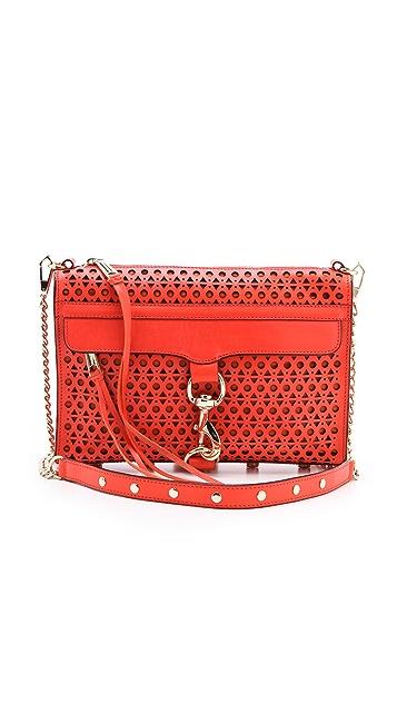 Rebecca Minkoff Triangle Perf MAC Bag