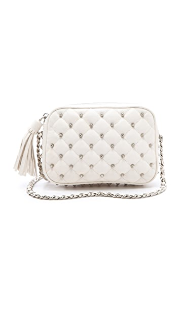 Rebecca Minkoff Diamond Quilt & Stud Flirty Bag