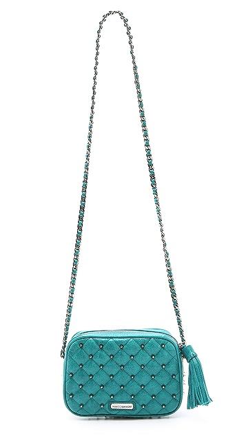 Rebecca Minkoff Diamond Quilt & Stud Flirty Bag