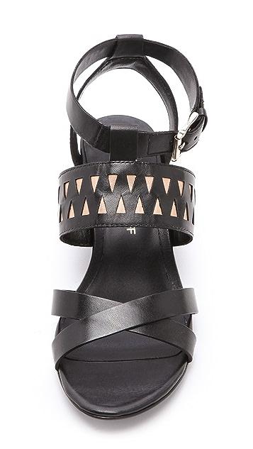 Rebecca Minkoff Lupe Demi Wedge Sandals