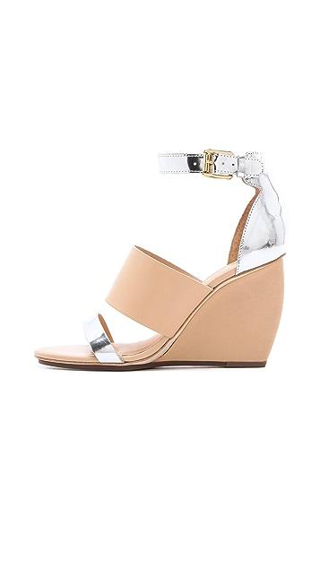 Rebecca Minkoff Stella Wedge Sandals