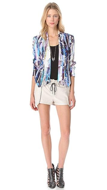 Rebecca Minkoff Becky Printed Jacket