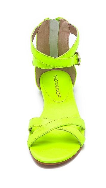 Rebecca Minkoff Bettina Neon Flat Sandals