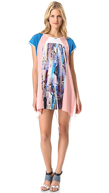 Rebecca Minkoff Printed Baseball Dress