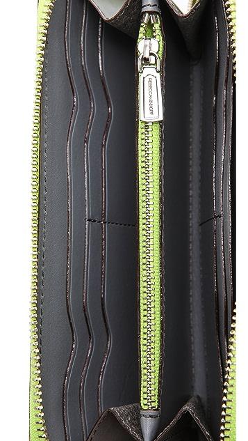 Rebecca Minkoff Studded Zip Wallet